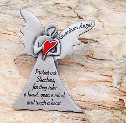 Guardian Angel Car Visor Clip - Teacher