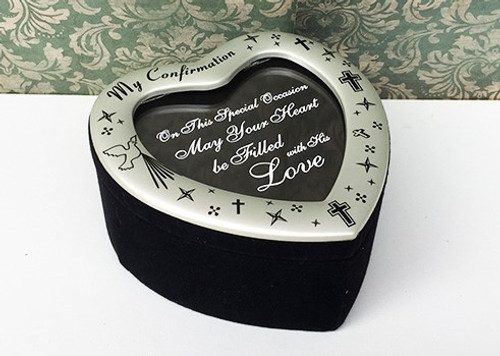 'My Confirmation' Photo Trinket Box