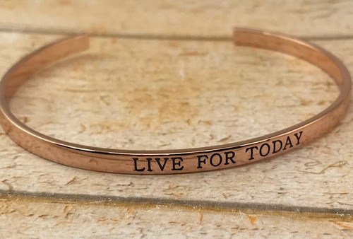 Ginger Moon 'Live For Today' Bangle