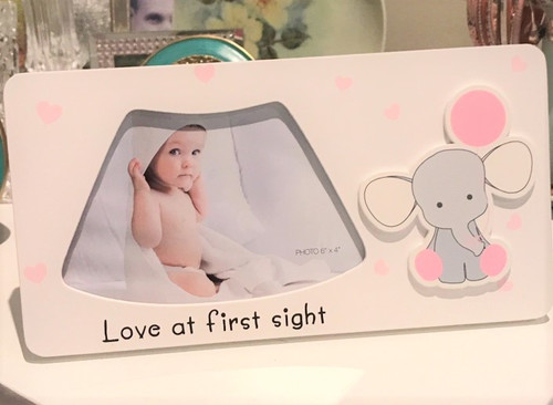 First Scan Photo Frame