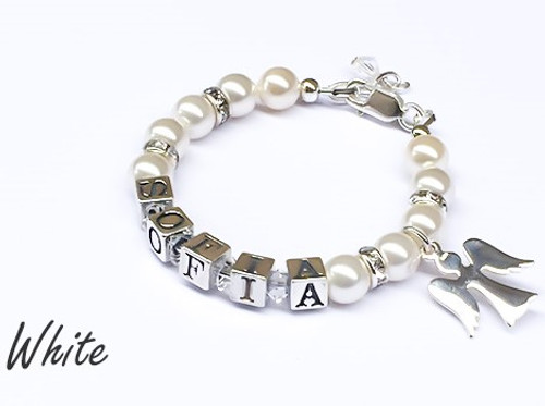 'Angel' Personalised Name Bracelet