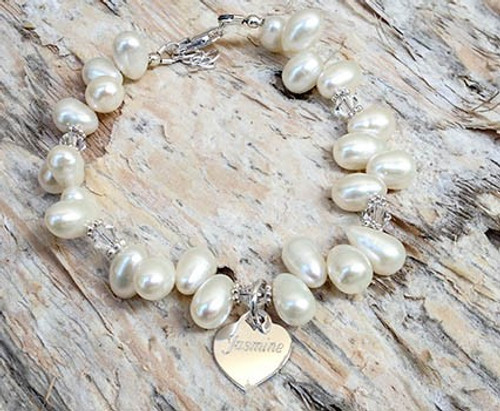 Drops Of Pearls Bracelet