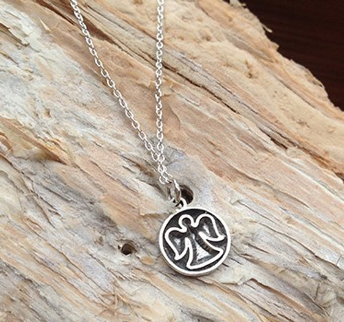 'Angel' Sterling Silver Necklace
