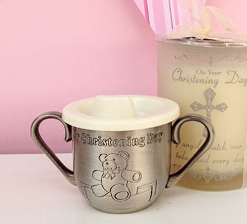 'My Christening Day' Pewter Babies Cup