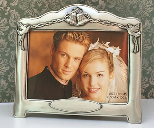 Wedding Bells Photo Frame - Engraving included