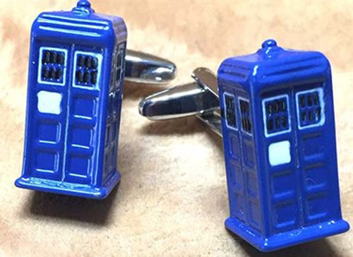 Men's Cufflinks - Tardis