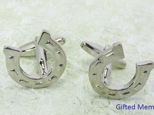 Men's Cufflinks - Horse Shoes