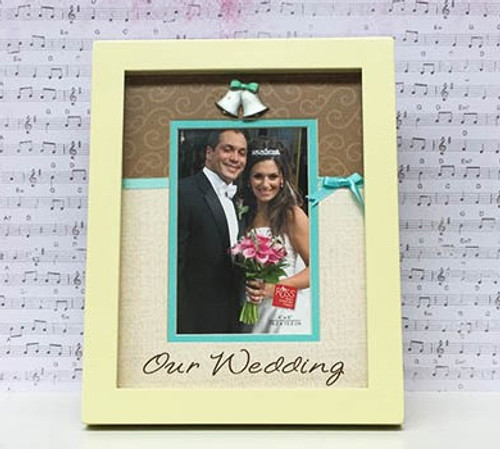 'Our Wedding' Photo Frame