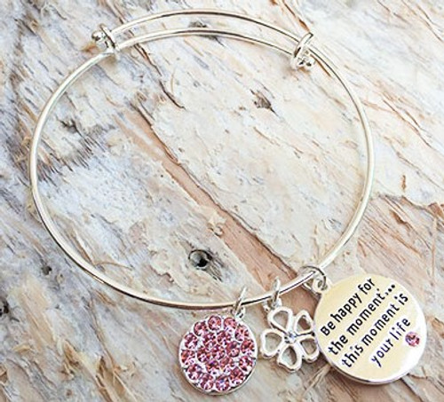 Equilibrium Bangle - Be Happy For The Moment
