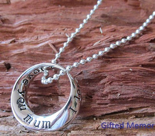 'Mother' ring necklace