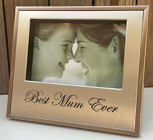 'Best Mum' Silver Photo Frame