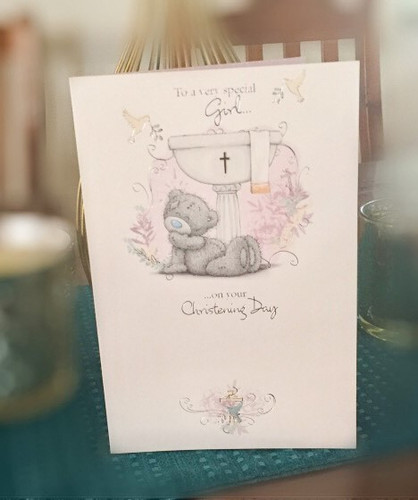 Tatty Teddy 'To A Very Special Girl on your Christening Day'