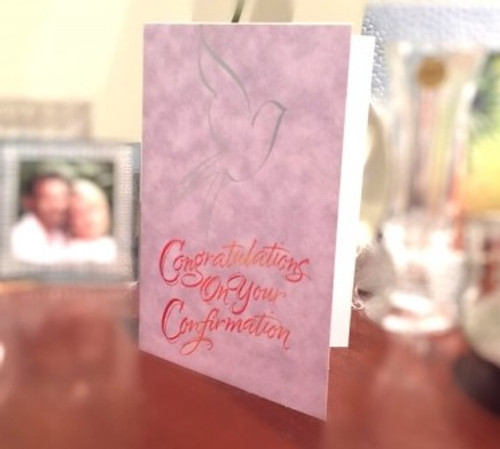 Congratulations on Your Confirmation Greeting Card