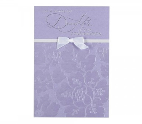 'For a Wonderful Daughter' Greeting Card