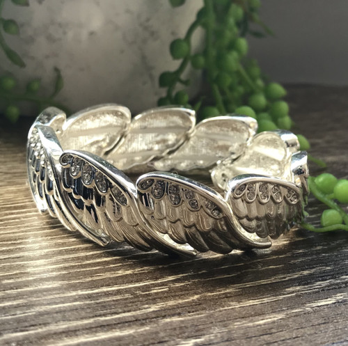 Equilibrium Guardian Angel 'Wings' Bangle
