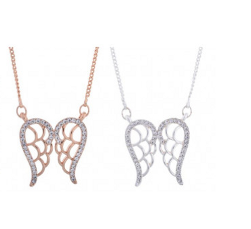 Equilibrium Guardian Angel 'Wings' Necklace