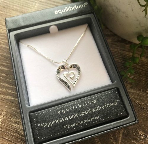 Equilibrium Eternal Heart Necklace - Happiness