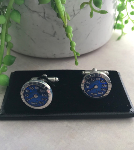 Men's Cufflinks - Car Speedo's