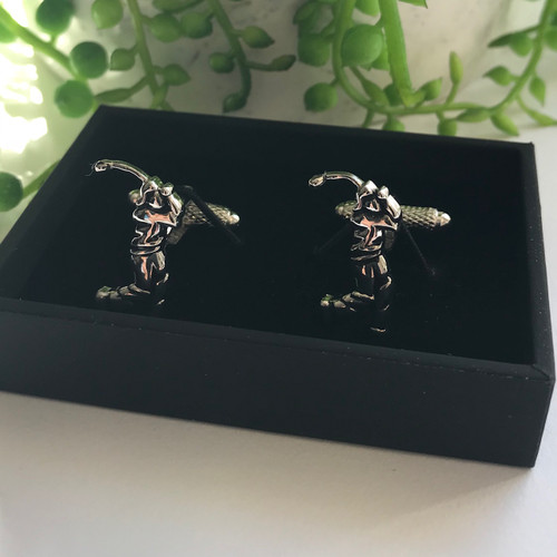 Men's Cufflinks - Golfer