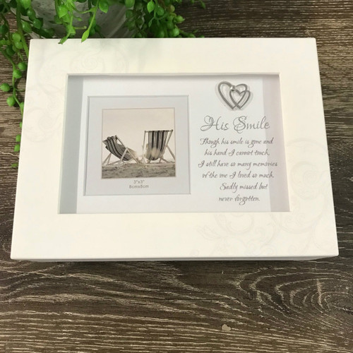 'His Smile' Remembrance Keepsake Box