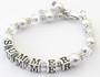 Heaven On Earth Personalised Bracelet