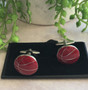 Men's Cufflinks - Basketballs