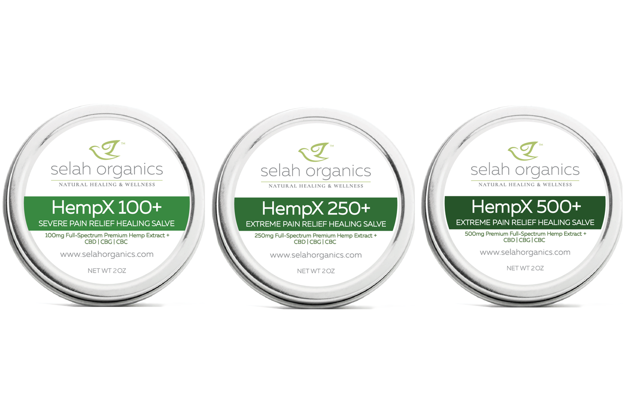 HempX+ High Elevation Hemp Salves