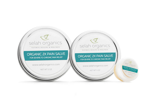 Organic 2x Pain Salve | Muscle, Joint, Nerve