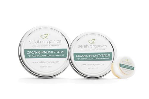Organic Immunity Boost Salve | Congestion, Immunity
