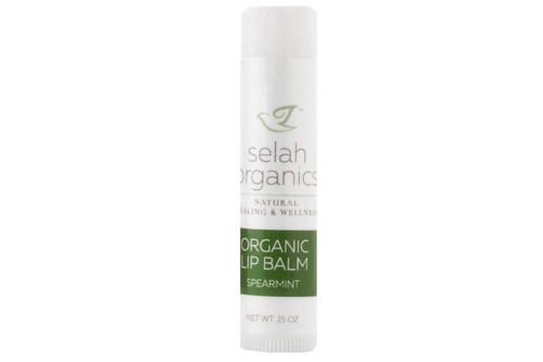 Spearmint Organic Lip Balm | Dry, Chapped Cracked