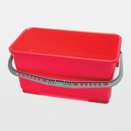 TX7060 AlphaMop Polypropylene Rectangular Bucket (Available 3 Colors)