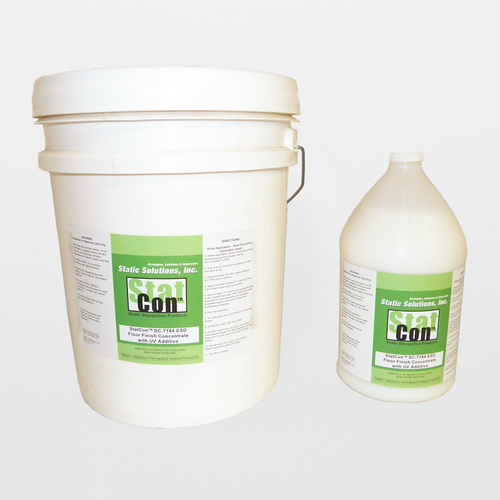 Stat-Con SC-7184 ESD Floor Finish Concentrate with UV Additive