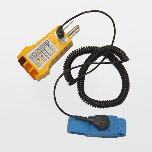Ohm-Stat SP-102 - Electrical Ground Checker with Wrist Strap