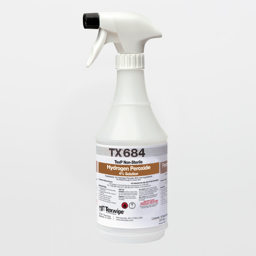 TX684 TexP 4% Hydrogen Peroxide RTU Solution (16 oz.)