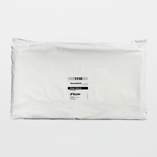"""Texwipe TX1118 TechniClothII 18"""" x 18"""" Cellulose and Polyester Cleanroom Wiper"""