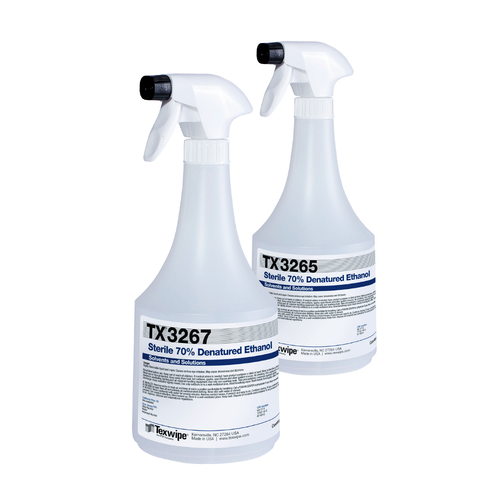 TX3267 Sterile 70% Denatured Ethanol Solution (16 oz.)