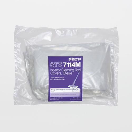 STX7114M Sterile Mini AlphaMop Microdenier Replacement Mop Covers (Refills)