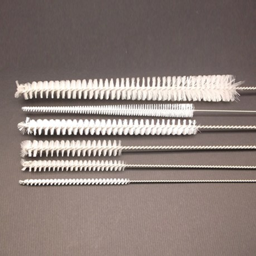 BRWM-125 Stainless Steel Wire Brush with Nylon Bristles