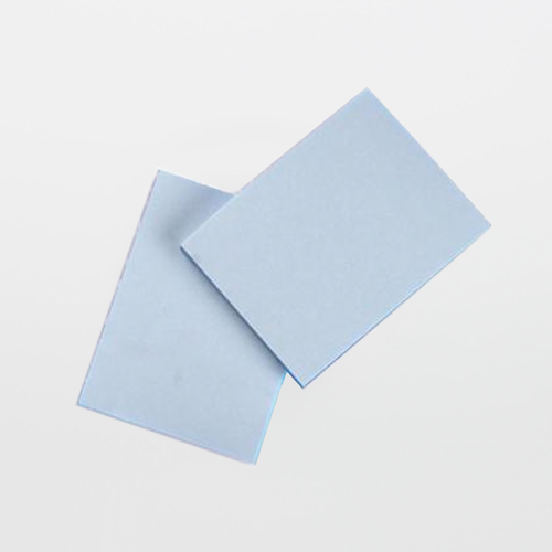"""Texwipe TX5820 TexNotes 3"""" x 4"""" Blue Self-Adhesive Cleanroom Notepads"""