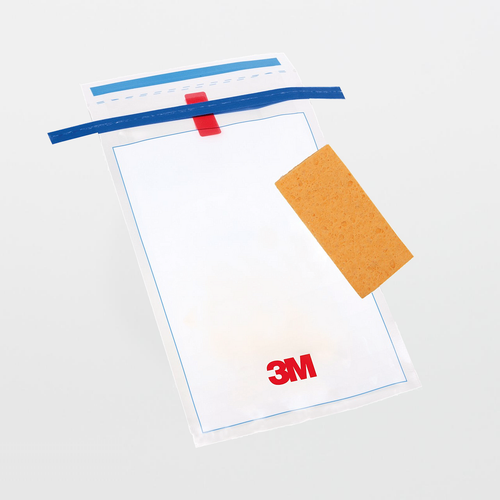 3M Hydrated-Sponge with 10 mL Letheen Broth HS10LET