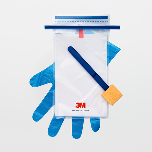 3M Sponge-Stick with 10 mL Letheen Broth and Gloves SSL10LET2G