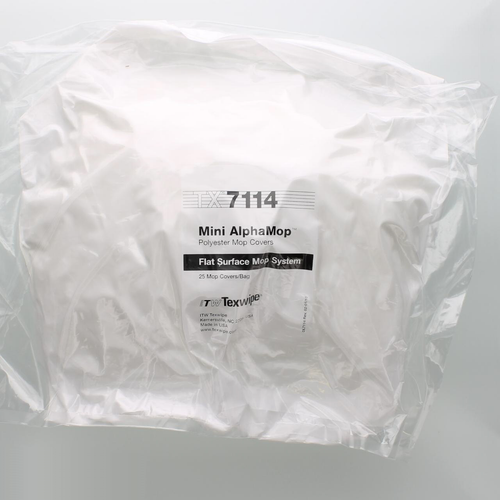 Texwipe TX7114 Mini AlphaMop Polyester Cleanroom Replacement Mop Covers (Refills)
