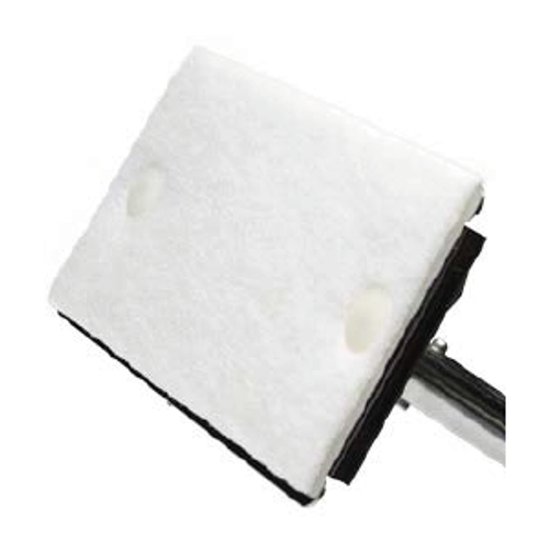 """TX7151 TexMop Replacement Polyester Pads for 12"""" x 12"""" Wipers"""