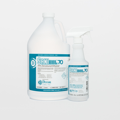 Sanihol 8601 Non-Sterile 70% Denatured Ethanol Solution (1 Gallon)