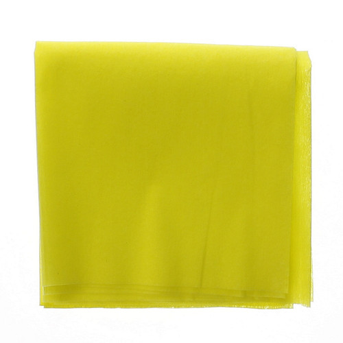 """24"""" x 24"""" Nonwoven Treated Yellow Dust Cloths"""