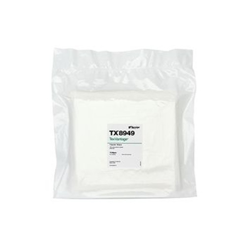 "TX8949 TexVantage 9"" x 9"" Sealed Edge Cleanroom Wiper"