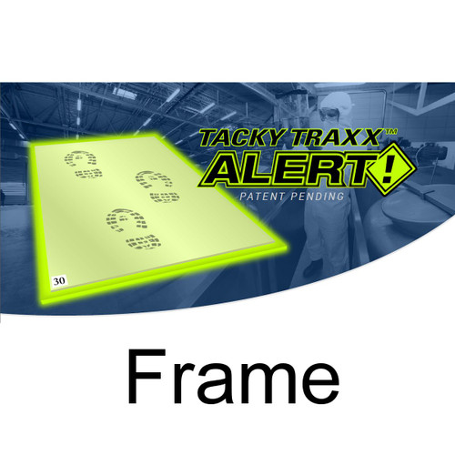 """Tacky Traxx 24"""" x 31"""" Alert! Glowing Edge Frame (FRAME ONLY)"""