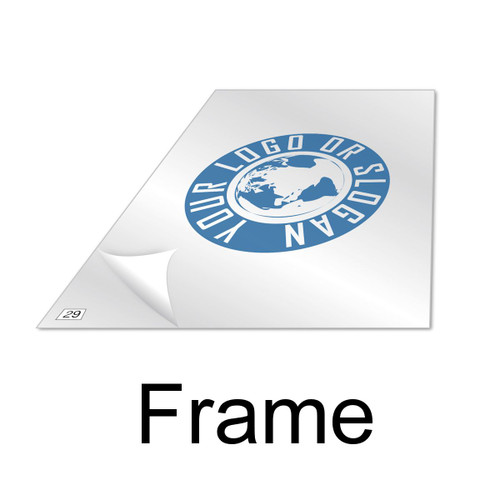 "Tacky Traxx 22"" x 30"" Custom Logo Frame (FRAME ONLY)"
