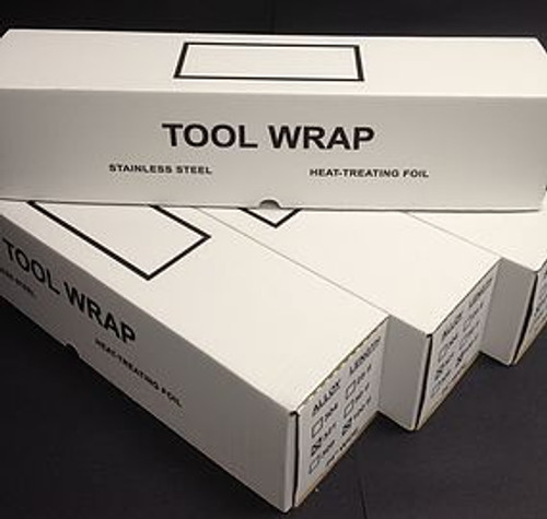 "Stainless Steel Tool Wrap .002"" x 24"" x 100 Feet"