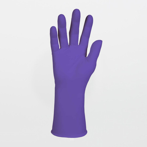 Kimberly-Clark Purple Nitrile-Xtra Exam Gloves